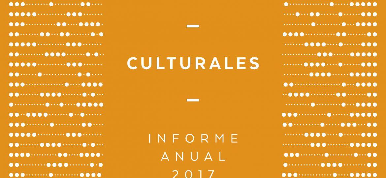Estadisticas Culturales. Informe Anual 2017