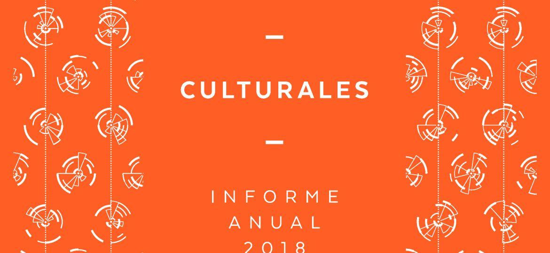 Estadisticas Culturales. Informe Anual 2018